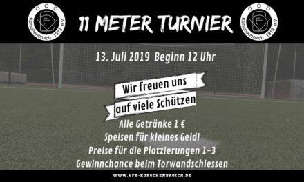 11 Meter Turnier 2019
