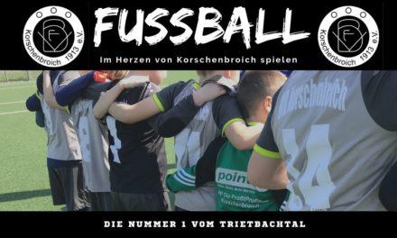 Wir suchen dich! Fussball beim VFB Korschenbroich spielen