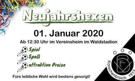 Neujahrshexen beim VFB 2020