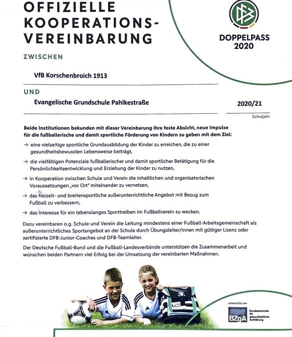 Offizielle Kooperationsvereinbarung